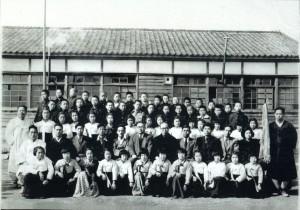 좌항국민교4회졸업사진