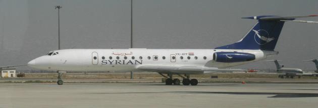 TU-134-Syrian