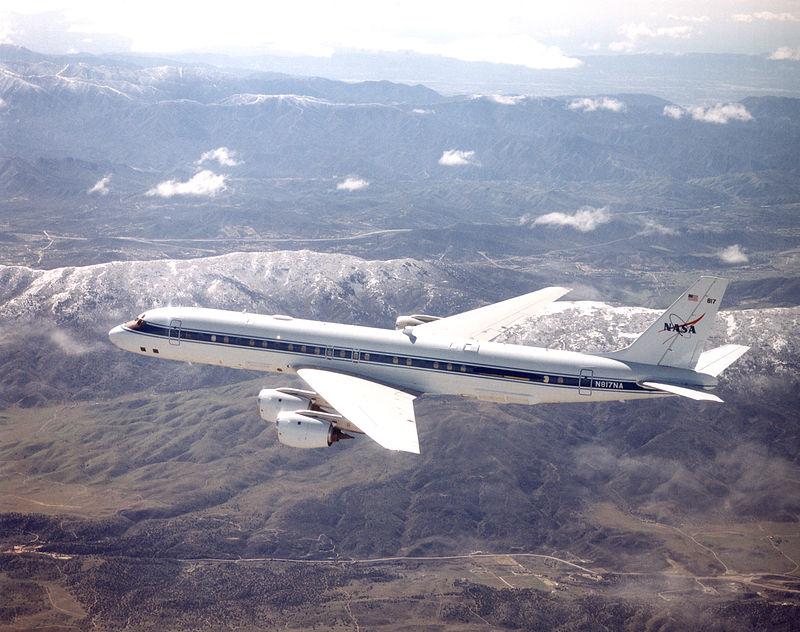 NASA-DC-8-N817NA