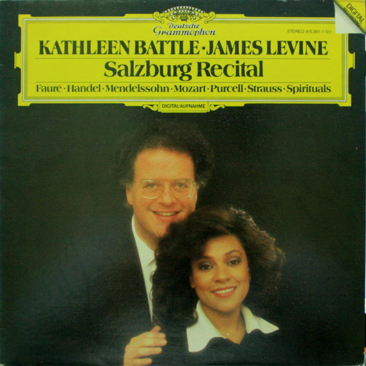 Battle & Levine Salzburg Recital