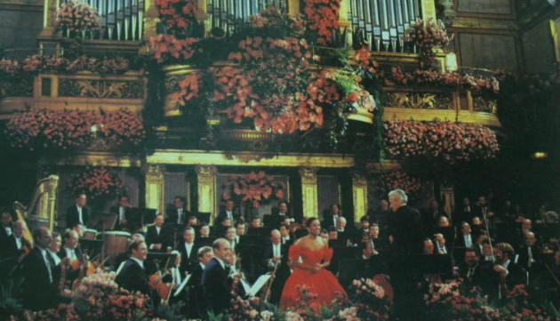 Vienna New Year Concert 1987 (back)