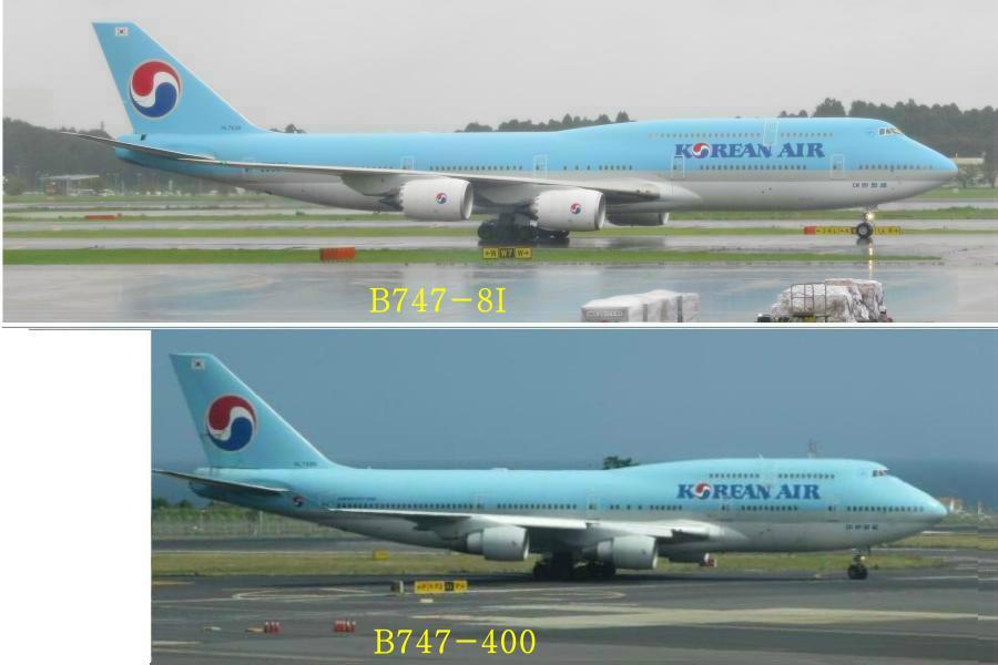 chobl-B744-vs-B748-fuselage
