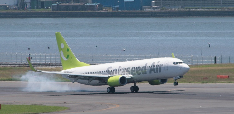 B737-800-HND-landing