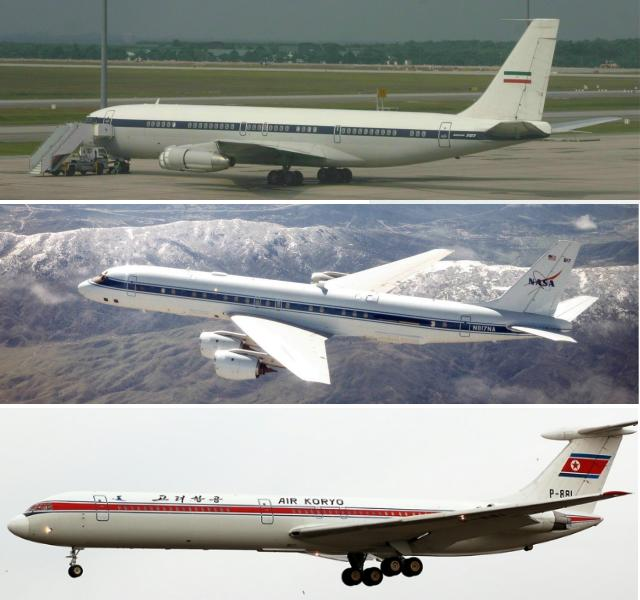 comparison-B707-DC8-IL62M
