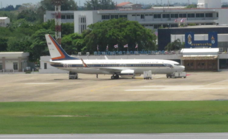 Thai-Royal-Fleet-HS-TYS-B737-8Z6-BBJ2-DMK
