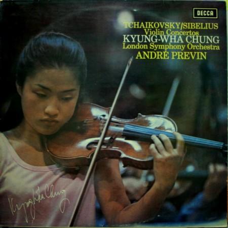 Tchaikovsky & Sibelius Violin Concerto 정경화 Previn LSO