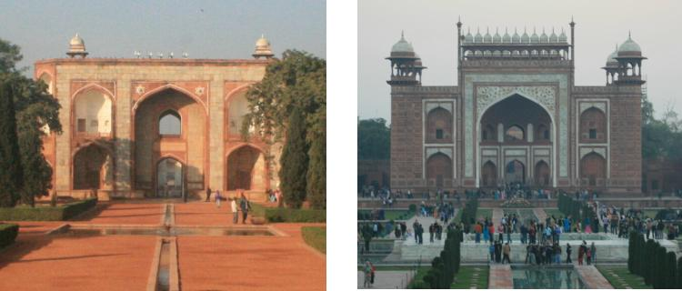 chobl-humayun-vs-taj-mahal-main-gate
