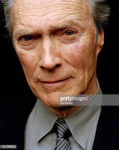 Actor, director Clint Eastwood poses for Newsweek International on January 24, 2004, in Los Angeles, CA. (Photo by Neil Wilder/Corbis via Getty Images)