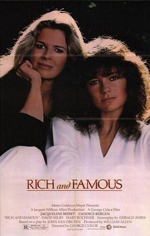 richandfamous jacqueline bisset candice bergen 1981