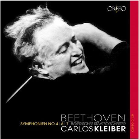 SYMPHONIE NOS.4, 6 & 7/ CARLOS KLEIBER [LP] [베토벤: 교향곡 4, 6 ...