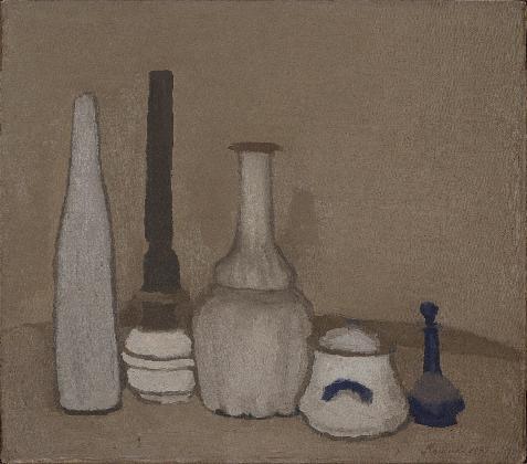조르조 모란디, <정물>, 1939, 캔버스에 유채, Museo Morandi, Bologna-Italy (V. 241)
