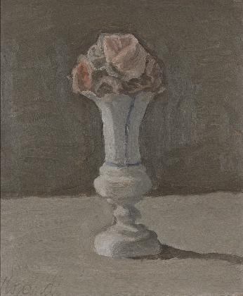 조르조 모란디, <꽃>, 1950, 캔버스에 유채, Museo Morandi, Bologna-Italy (V.706)