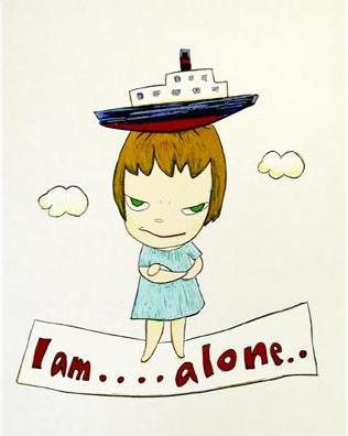 yoshitomo nara i am alone