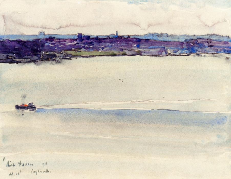 Frederick Childe Hassam - Cotysville (1916)