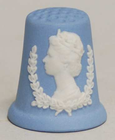 Kings & Queens Of England Thimble Coll pattern by Wedgwood China