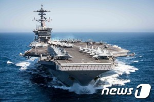 PACIFIC OCEAN (April 30, 2017) The aircraft carrier USS Theodore Roosevelt (CVN 71) transits the Pacific Ocean while conducting a tailored ship training availability off the coast of Southern Calif. (U.S. Navy photo by Mass Communication Specialist 2nd Class Paul L. Archer/Released)170430-N-DM308-174 Join the conversation: http://www.navy.mil/viewGallery.asp http://www.facebook.com/USNavy http://www.twitter.com/USNavy http://navylive.dodlive.mil http://pinterest.com https://plus.google.com