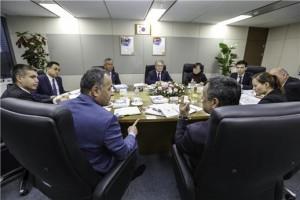 우즈베키스탄 방문단