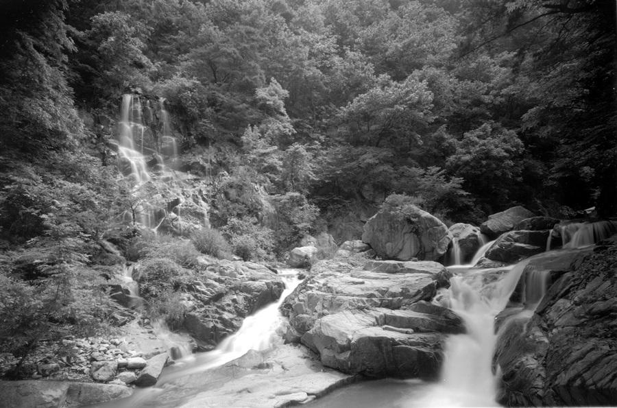 구룡계곡의 모습.