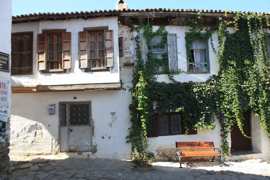 터키 에페스의 그리스 마을 가옥들은 지중해식이다.