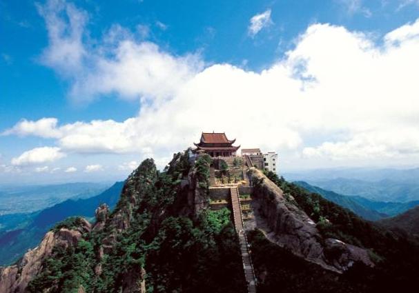 화산은 도교의 성지로 꼽히기도 한다.
