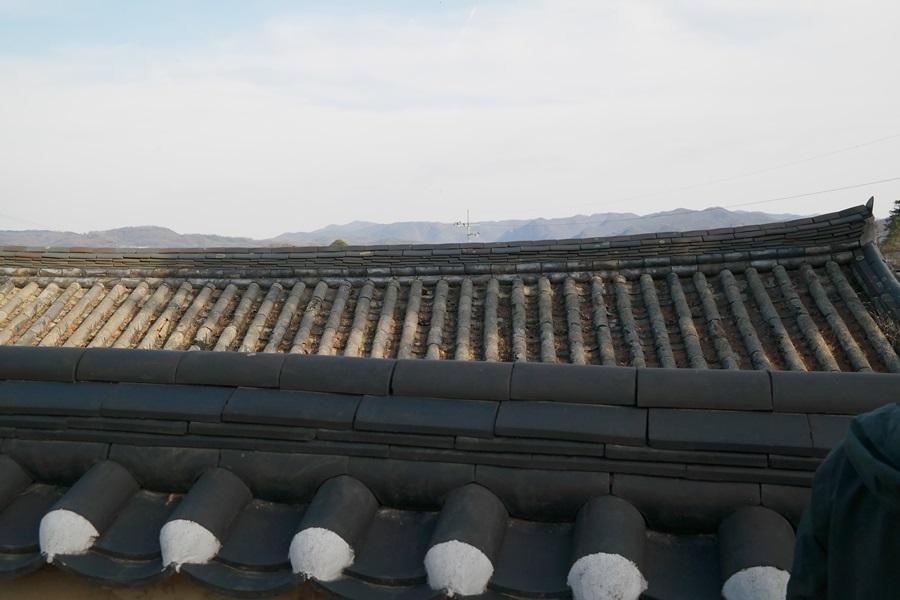 안동 김씨 집 안에서 담 너머로 길게 뻗은 안산이 담과 비슷한 높이로 절묘하게 균형을 이루고 있다. 풍수에서는 이를 토체라고 부르며, 대문호가 또는 정승, 판서 등이 배출될 명당으로 꼽는다.