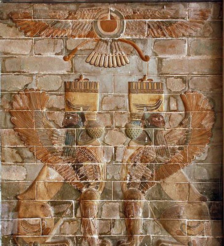 찬란했던 페르시아문명을 보여주는 국립 이란박물관에 있는 유물.