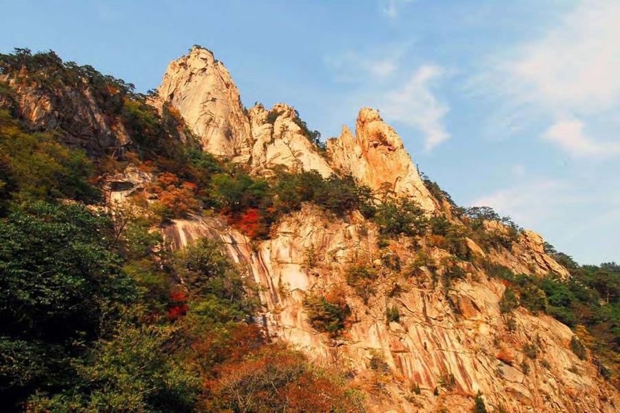 현재 명승으로 지정돼 있는 설악산 비선대. 사진 문화재청